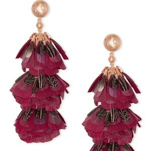 Kendra Scott | Lenni Tiered Feather Earrings